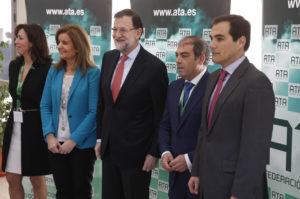 Clausura del II Foro de Emprendedores y Autónomos celebrado en Córdoba.