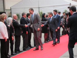 El Rey ha inaugurado el Congreso. / Foto: Europa Press.
