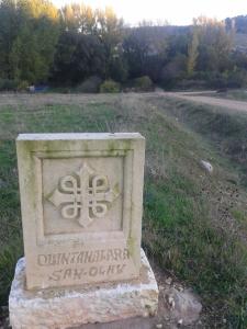 Señalización del Camino de San Olav. / www.caminodesanolav.es
