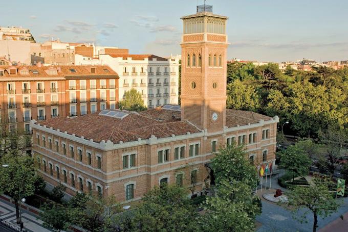 Sede de Casa Árabe en Madrid.