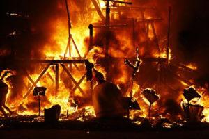Los monumentos arderán en la noche del 19 de marzo. / Foto: Ayuntamiento de Valencia.