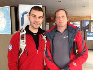 Juan Menéndez y Daniel Burton aspiraban a ser los primeros en llegar al Polo Sur en bicicleta.