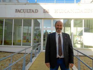 El vicedecano de ordenación académica de la Facultad de Humanidades de la UHU, Alfonso Doctor.