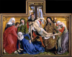 'El Descendimiento', Rogier van der Weyden. / Foto: Museo del Prado.