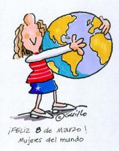Día Internacional de la Mujer Trabajadora. / http://www.italysite.info