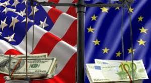 Dolar vs euro.
