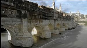 El Puente Romano en Juego de Tronos.
