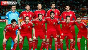 La selección española de fútbol. / http://www.rfef.es