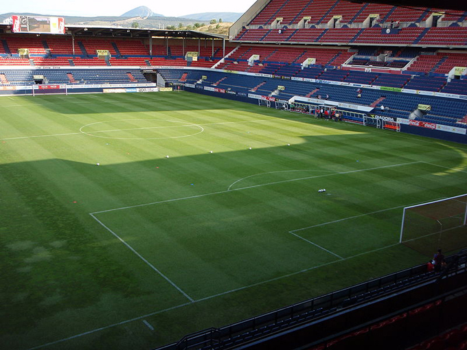 Estadio del Osasuna.