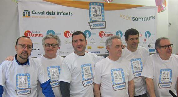 Ferran Adrià apadrina un espectáculo para recaudar fondos para el Casal dels Infants