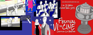 Cartel del Festival de Cine de Castilla La Mancha.