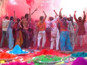 Festival Holi.