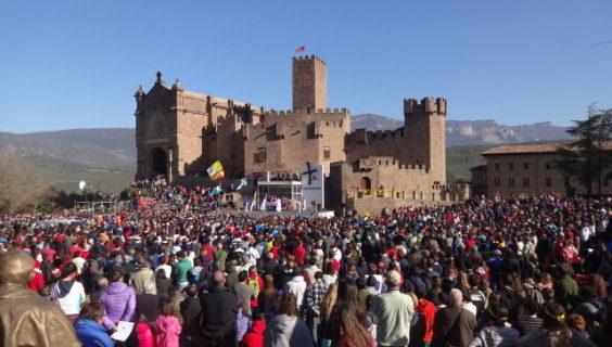 Miles de peregrinos participarán en la primera Javierada de 2015
