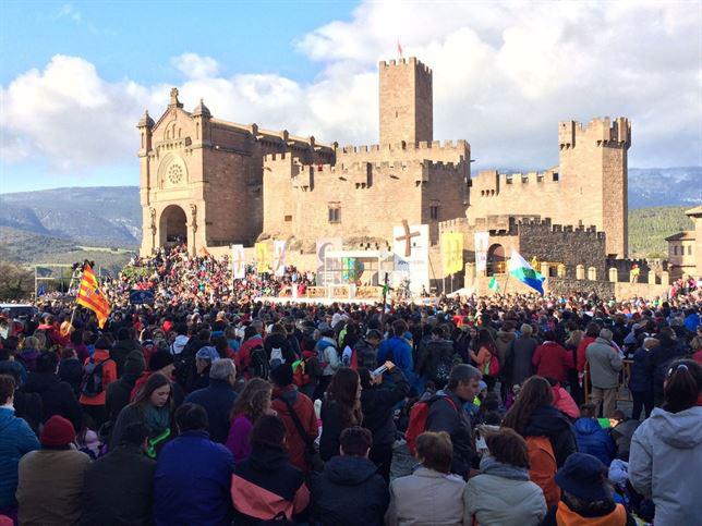 Unas 17.000 personas acuden a la segunda y última 'Javierada' 2015