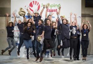 Jóvenes participantes en Jumping Talent. / Foto: Universia.