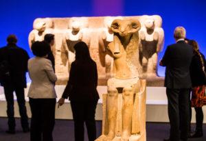 La muestra analiza la relación entre animales y faraones. / Foto: La Caixa