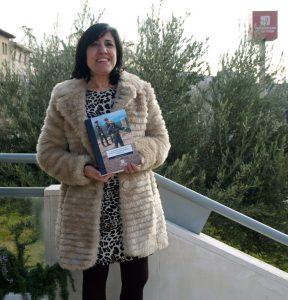 La autora del libro, Remedios Álvarez.
