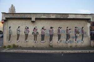 Una de las obras de Hyuro. / Foto: lineazerometro.com