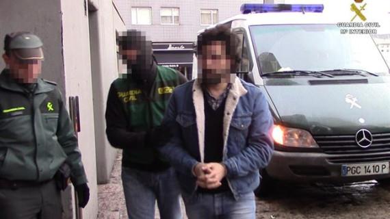 Detenidos 35 integrantes de una red internacional de narcotráfico dirigida desde A Coruña