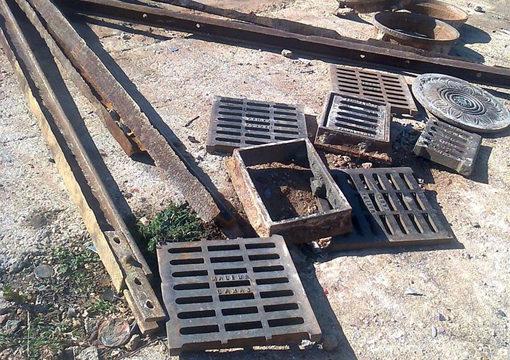 La Guardia Civil recupera en el municipio onubense de Niebla piezas metálicas de valor histórico