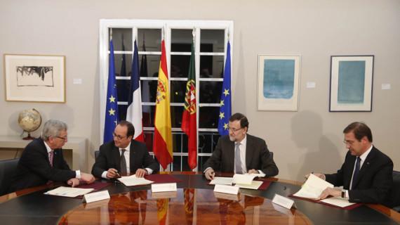 España, Francia y Portugal se unen para impulsar las interconexiones energéticas