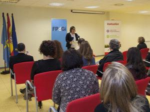 Lectura del fallo del premio. / Fundación Princesa de Girona.