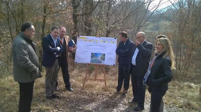 La Confederación Hidrográfica del Ebro inicia la reconstrucción de la pasarela de El Puente de Sabiñánigo