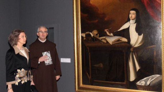 Obras de Zurbarán, Alonso Cano y Goya componen la muestra 'Teresa de Jesús: maestra de oración'