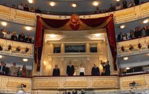 Sus Majestades acudieron a ver 'El Público'. / Foto: Casa Real.