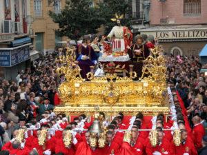 El Cristo y el conjunto escultórico de la Sagrada Cena de Málaga son de Álvarez. / Foto: www.sagradacena.org