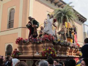 Paso de Semana Santa. / Foto: Europa Press.