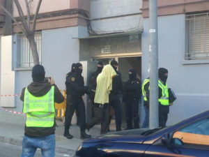 Detención en Badalona de una familia por presunta captación de yihadistas.