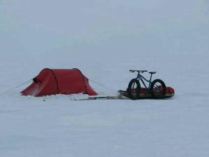 Juan Menéndez Llegó al Polo Sur en solitario y sin ningún tipo de ayuda.