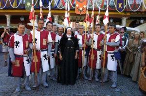 'Día de la reina' en Tordesillas (Valladolid). / http://sobreespana.com