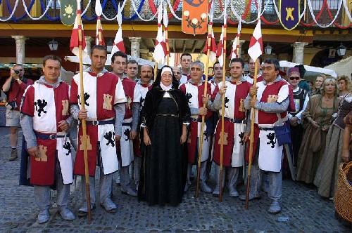 Más de 250 personas recrearán la llegada a Tordesillas de Juana I de Castilla