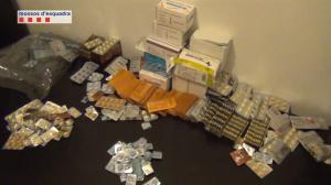 Viagra incautada por las autoridades.