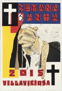 Cartel de la Semana Santa de Villaviciosa 2015.