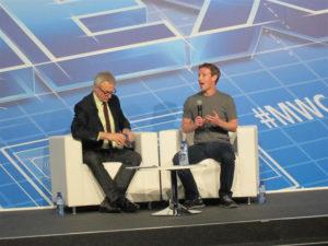 Zuckerberg volverá al MPC por segundo año consecutivo. / Foto: Europa Press.