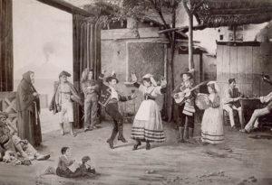 La tarantela es una popular danza italiana. / https://etnomusic.wordpress.com