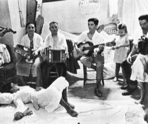 Imagen del ritual de la tarántula.