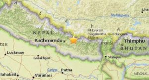 Epicentro del terremoto de Nepal. / Foto: www.lagranepoca.com