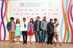 Estreno de la película en el Festival de Cine de Málaga.