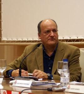 El escritor Gustavo Martín Garzo.