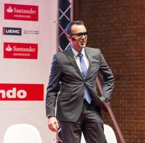Risto Mejide durante su participación en UEMCtalk. / Foto: UEM