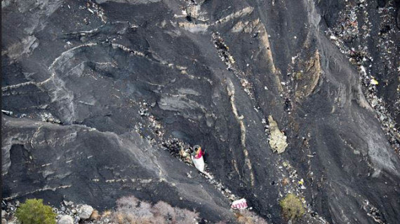 Una ceremonia recuerda a las víctimas del avión de Germanwings
