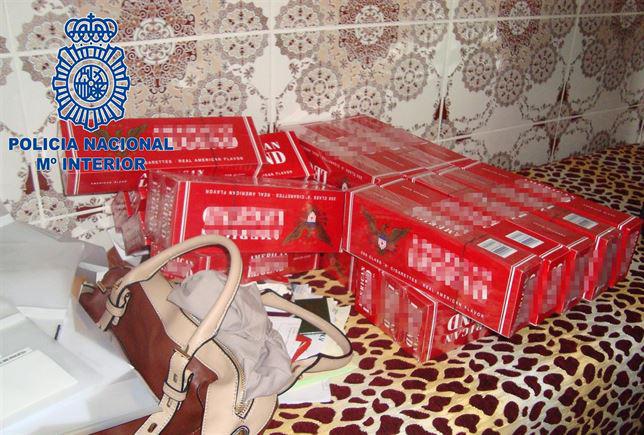 La Policía Nacional desarticula un entramado de producción y venta de artículos falsificados