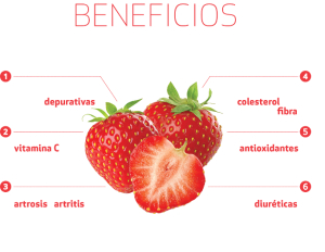 Beneficios de las fresas. / http://interfresacontraelcancer.com