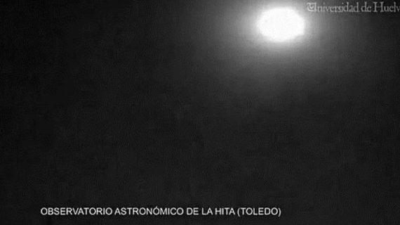 Una bola de fuego sobrevuela la provincia de Toledo sin causar daños