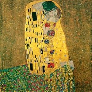 El beso, de Gustav Klimt.