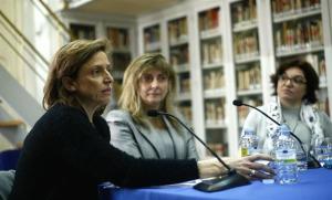 Presentación de la exposición 'Pioneras'. / Foto: Europa Press.